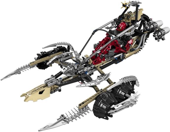 Lego Technic Bionicle 1x8 Launcher Arm 64275 1x Dark Grey /& 1x Light Grey