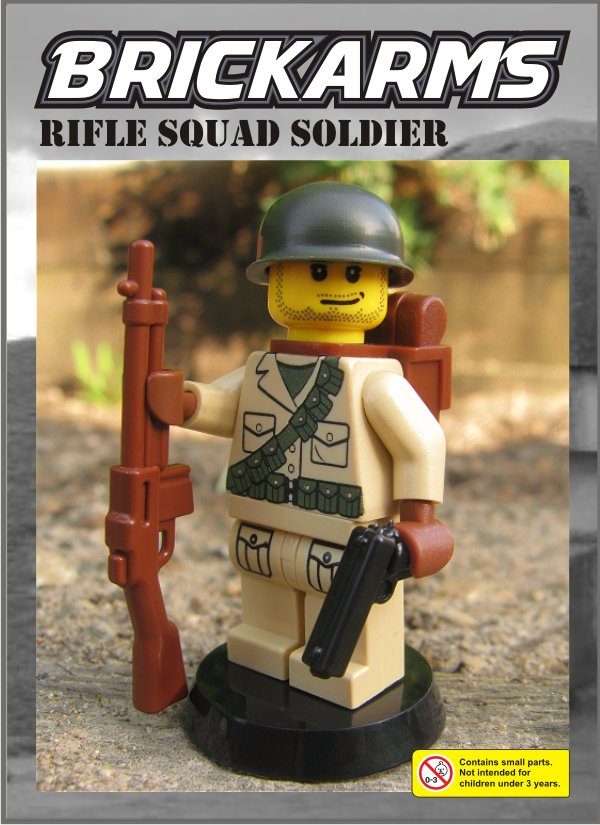 BrickArms_WW2_US_Soldier