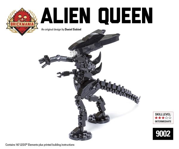 Bricker Construction Toy By Brickmania 9002 Alien Queen