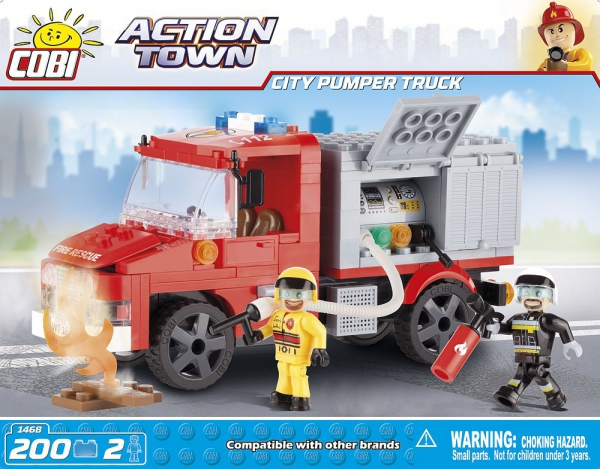 mega bloks fire truck instructions