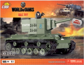 Cobi presents World of Tanks - Roll Out construction sets