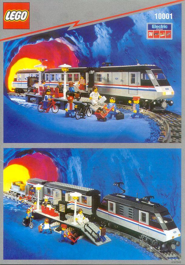 Lego 9V RC Railway TRAIN LARGE 4558 Doors Set Left Right GREY
