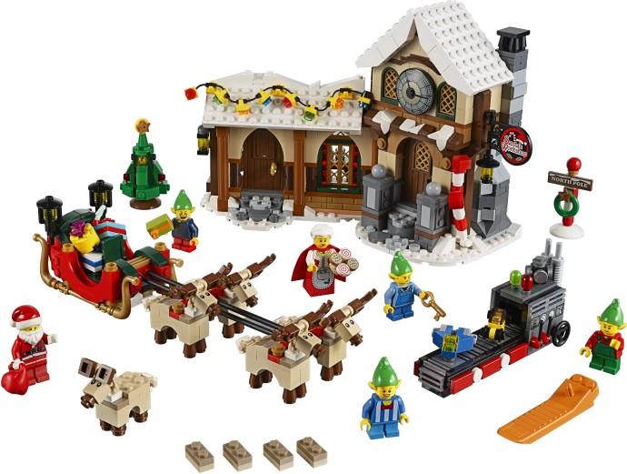 Weihnachten Blue Overall hol045 LEGO® Minifigur 10245 Elf