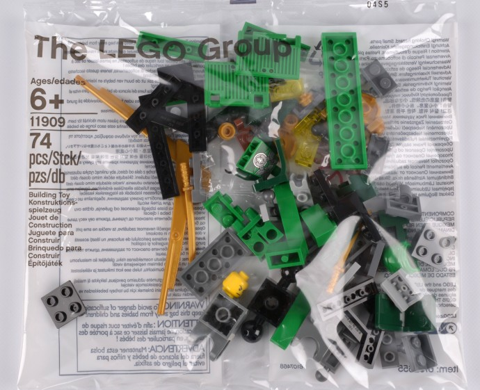 Bricker - Construction Toy by LEGO 11909 Build your own Adventure parts