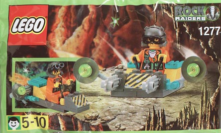 Bricker - Construction Toy by LEGO 1277 Kabaya Promotional Set: Rock  Raiders Ship