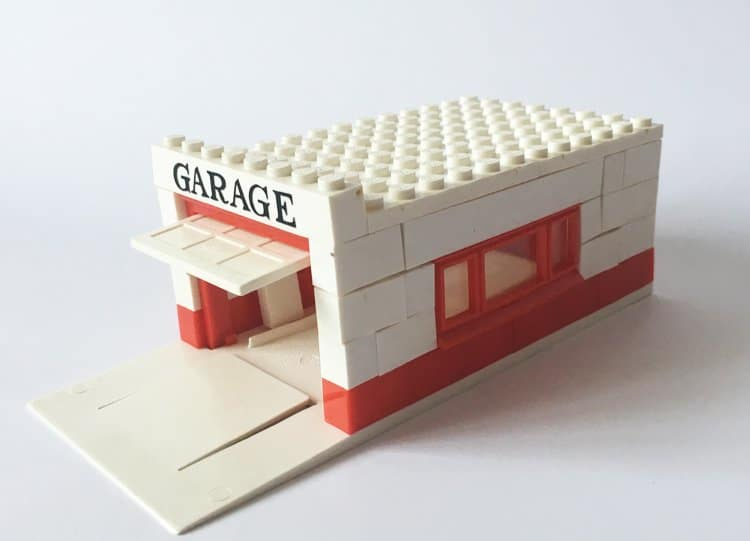 Bricker Construction Toy By Lego 236 Garage With