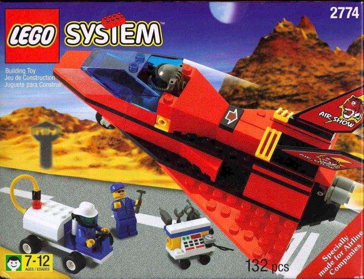 Baukästen & Konstruktion Lego airdg001+tel004# 2x Figur Flug Show 2774