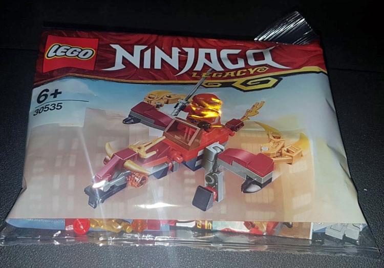 Bricker Construction Toy By Lego 30535 Fire Dragon