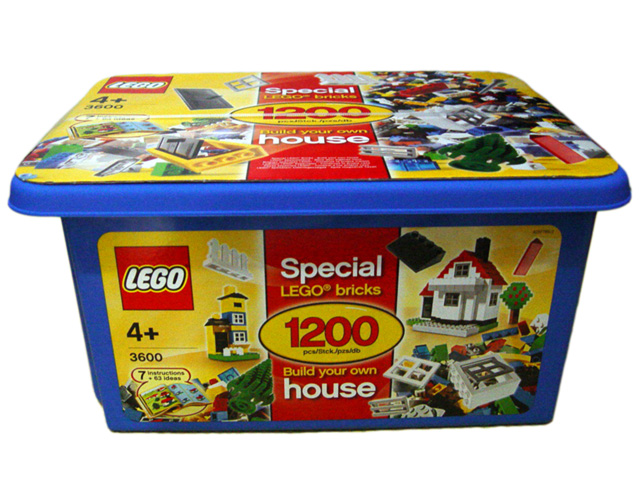 Bricker - Construction Toy by LEGO 3600-2 Build Your Own House