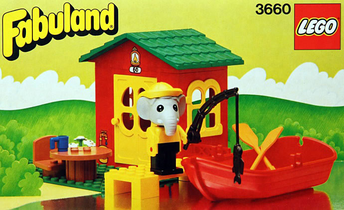 Bricker Construction Toy By Lego 3660 Fishermans Cottage