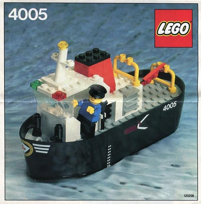 Bricker - Construction Toy by LEGO 4005 Tug Boat