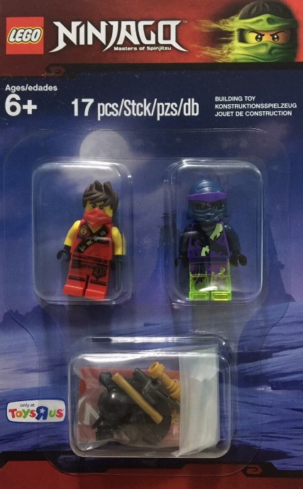 Bricker Construction Toy By Lego 5003085 Minifigure Pack