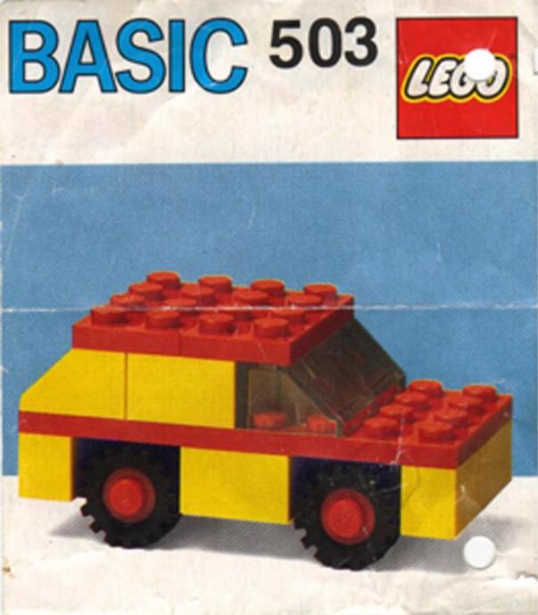 Bricker Construction Toy By Lego 503 Basic Building Set 5