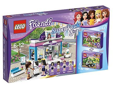 lego friends 3935 instructions
