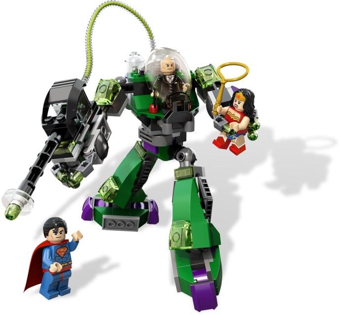 Lego Lex Luthor from Set 6862 Superman Vs Power Armour Super Hereos NEW sh012 LEGO Bau- & Konstruktionsspielzeug LEGO Minifiguren