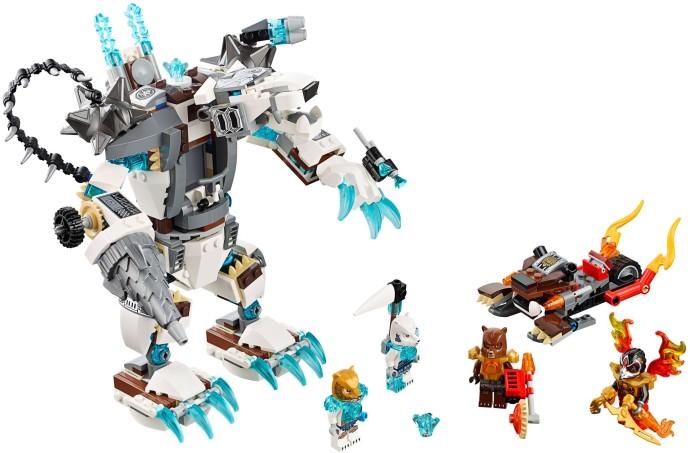 Lego Bulkar from set 70223 Icebites Claw Driller Legend of Chima Bear NEW loc134