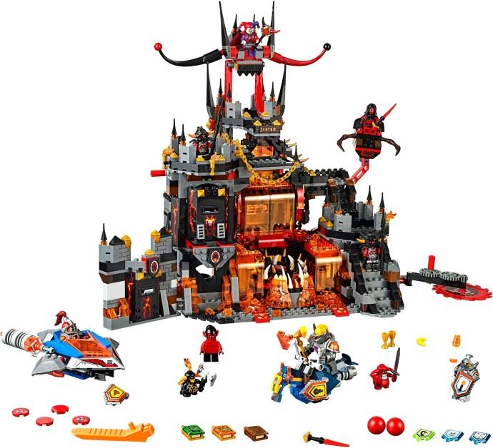 Bricker Construction Toy By Lego 70323 Jestros Volcano Lair