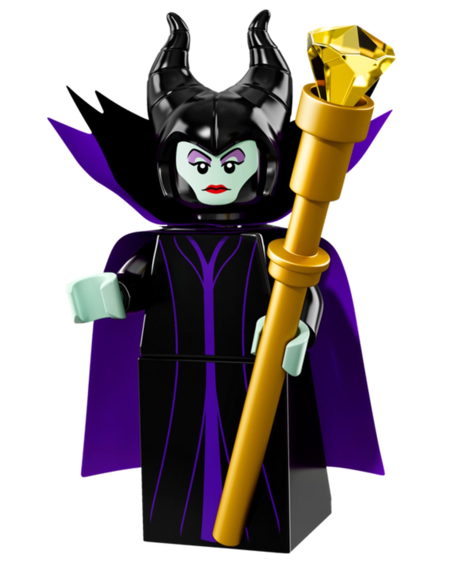 Lego Maleficent Minifigure Bricker - Const...