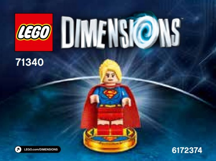 Bricker - Construction Toy by LEGO 71340 Supergirl