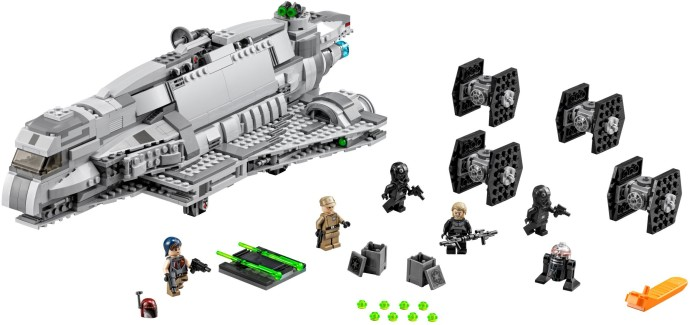Lego Star Wars Imperial Assault Carrier 75106 Sticker Sheet New