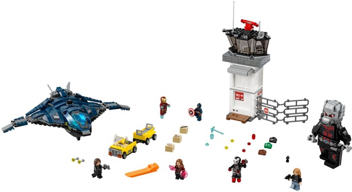 Bricker - Construction Toy by LEGO 76051 Super Hero Airport