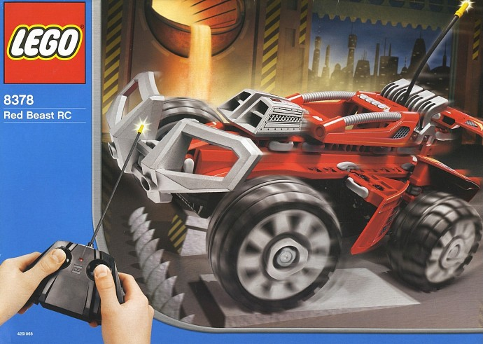 Bricker Construction Toy By Lego 8378 Red Beast Rc
