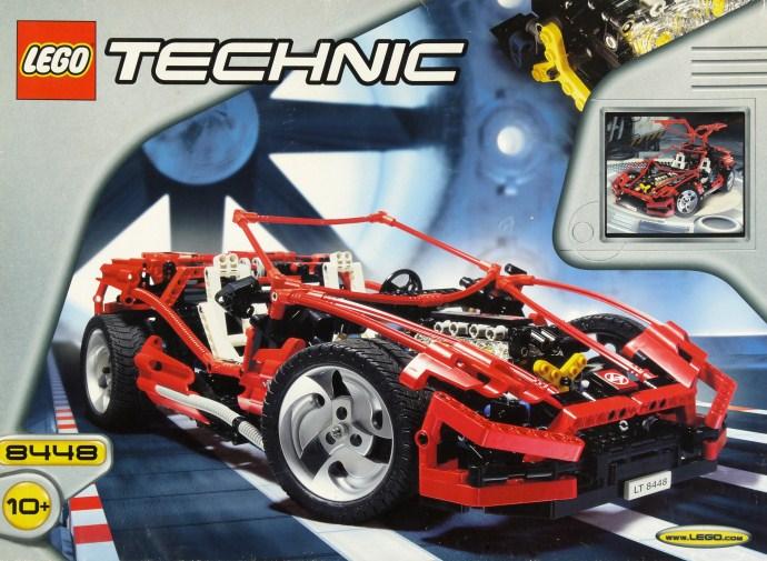 Bricker Construction Toy By Lego 8448 Super Street Sensation