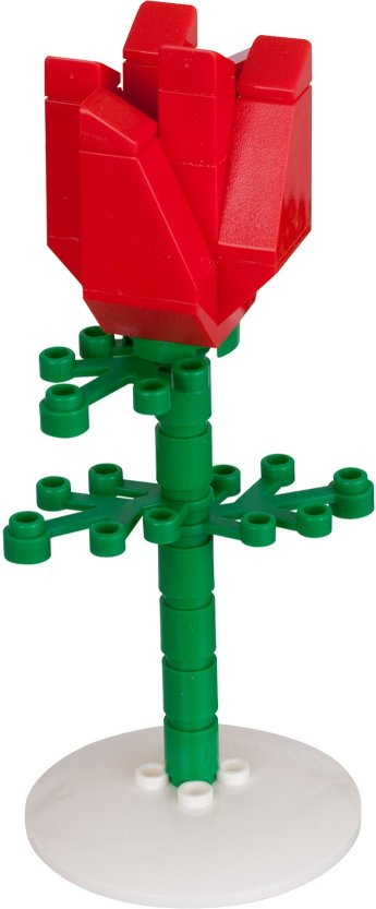 Bricker Construction Toy By Lego 852786 Rose
