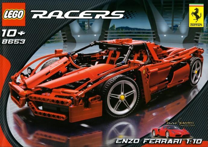 Bricker Construction Toy By Lego 8653 Enzo Ferrari 1 10