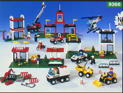 Bricker - Construction Toy by LEGO 9366 Lego Dacta Town Set