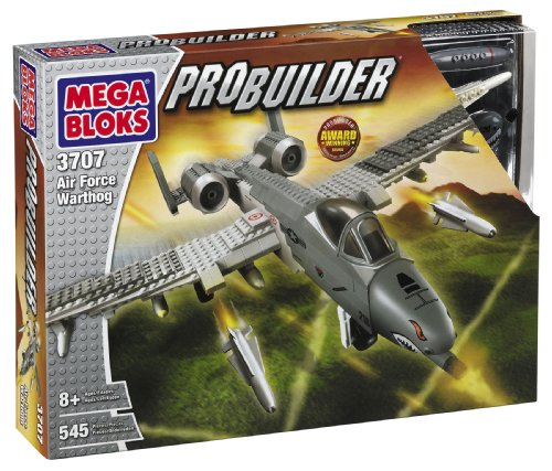 Bricker Construction Toy By Megabloks 3707 Air Force Warthog
