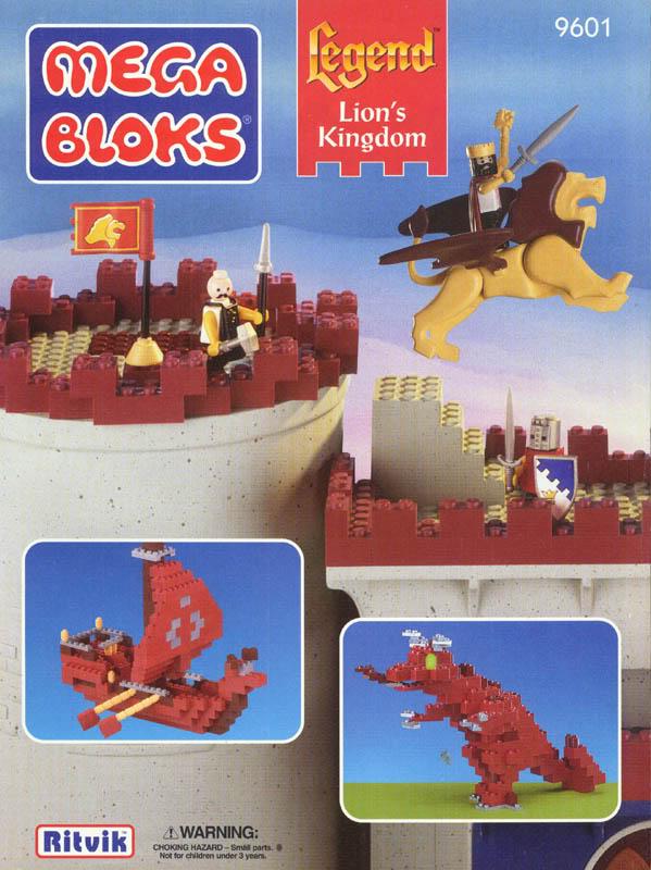 Bricker - Construction Toy by MEGABLOKS 9601 Lion's Kingdom