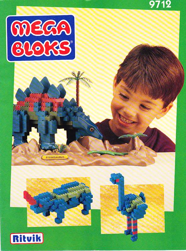 mega bloks dinosaur instructions