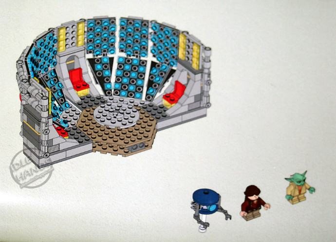 Bricker Construction Toy By Lego Yodachron Yoda Chronicles