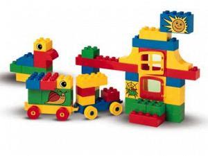 Bricker Construction Toy By Lego 3037 Tub Of Fun