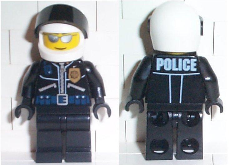 Lego old timer pilote figurine city