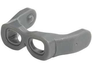 Lego Minifigure Head Gear Visor Goggles Glasses part 30170 lot of 5 pieces