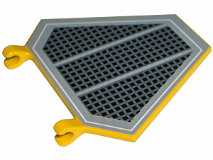 Choose Color /& Quantity Flag 5x6 Hexagonal SW Black Grille x1435pb001 Lego