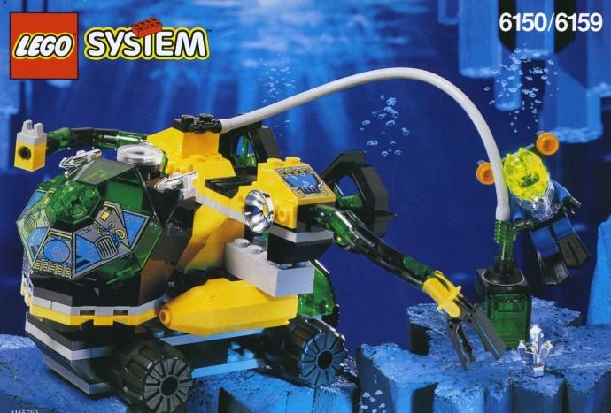Suction Cup Gun Utensil Minifig Trans-Green LEGO
