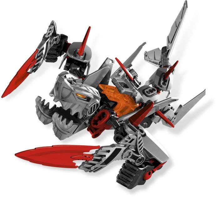 4 LEGO Black Hero Factory Weapon Angled Blade