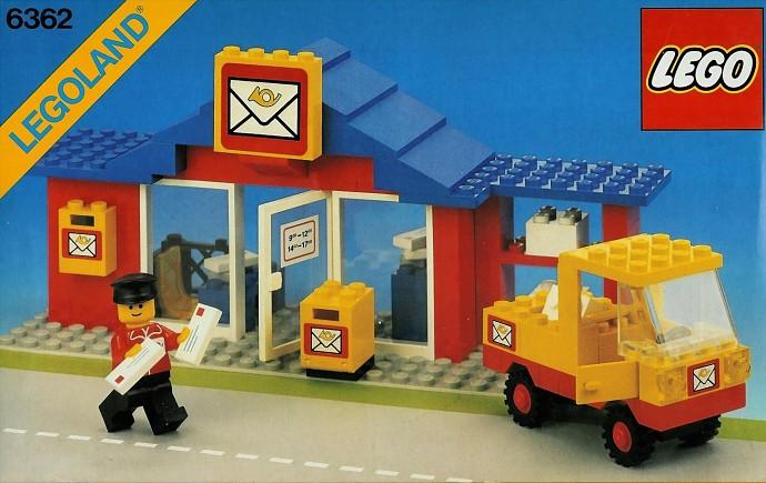 LEGO 4345apx1 @@ Box 2 x 2 x 2 Mail Pattern 1484 4554 6362 6372 6374 7824