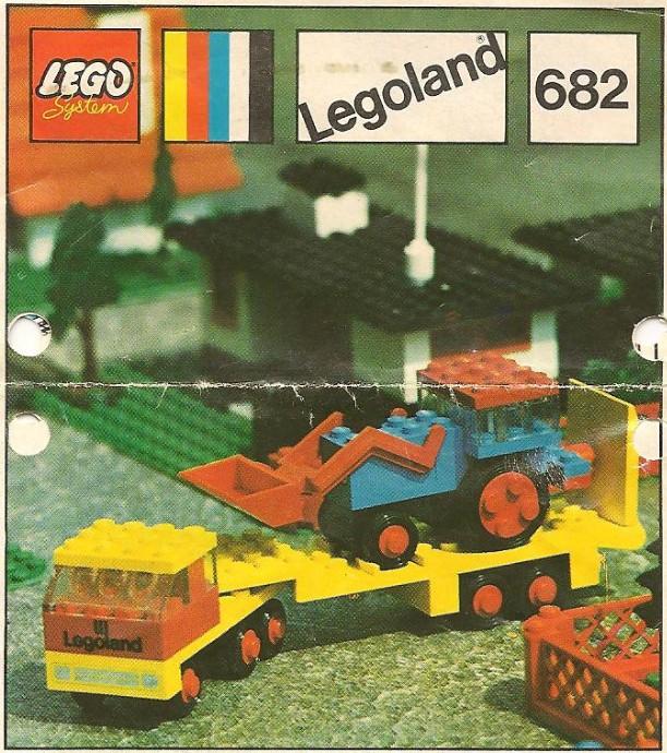 LEGO 966 CAMION TELAIO 4x16