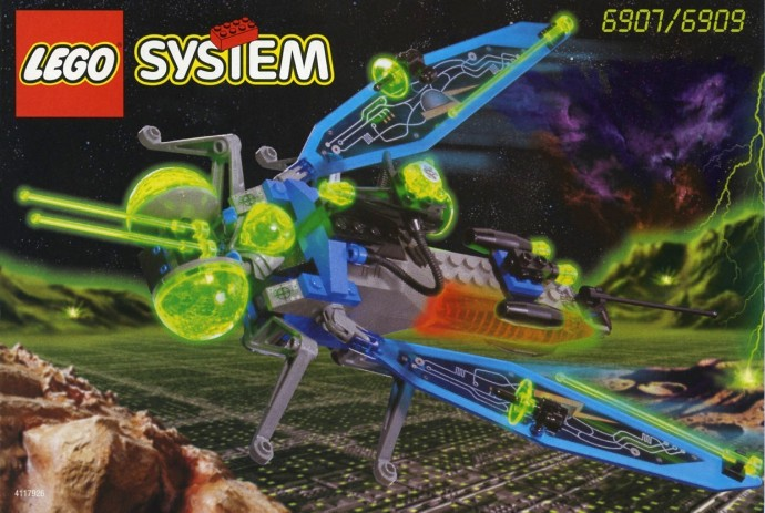 LEGO PART X239 INSECTOID STINGER LIGHT AND SOUND COMPLETE