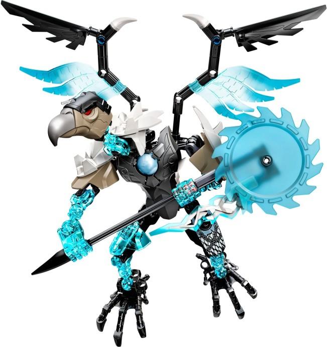 4x Aile Chima Wing 9L Stylized Feathers bleu azur//dark azure 11091 NEUF Lego