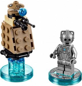 DIM014 NEW LEGO CYBERMAN FROM SET 71238 DOCTOR WHO
