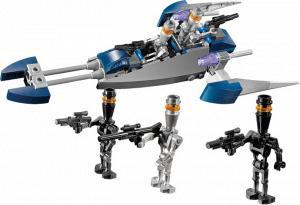 LEGO Star Wars Assassin Droid Minifig Clone Wars sw229  8015
