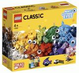 Nouveau Lego trans rouge 1 x 1 round bricks X 10 Open Stud Partie 3062b